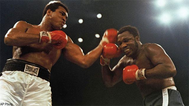 Greatest sports rivalries: Muhammad Ali vs  Joe Frazier