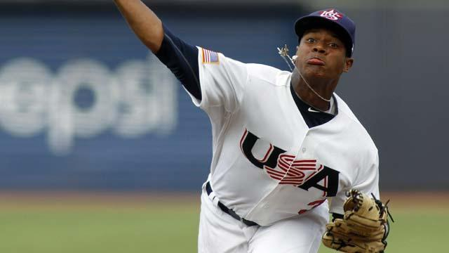 Jays' prospect Stroman strong in double-A debut