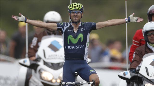 Valverde Wins 17th Stage Of Tour De France Sportsnetca