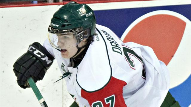 QMJHL: Drouin Scores Three; Halifax Extends Win Streak