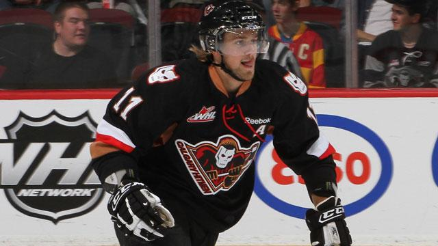 WHL: Brooks' Winner Helps Hitmen Edge Rebels In OT