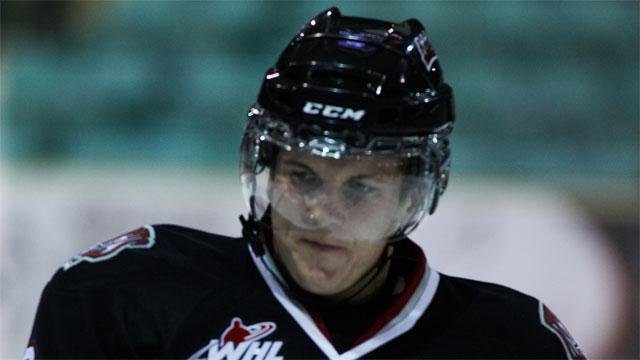 WHL: Bleackley Scores 2 To Lead Rebels Past Blades