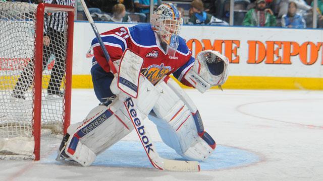 WHL: Brossoit, Oil Kings Blank Tigers For 2-0 Series Lead