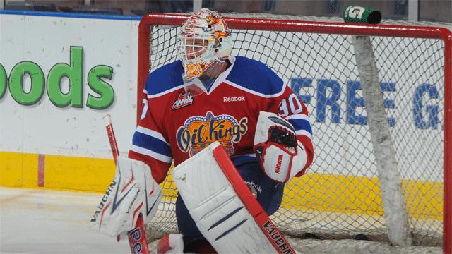 WHL: Jarry Earns Shutout In Oil Kings' Win Over Giants