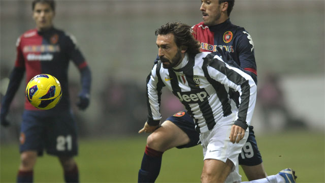 While Andrea Pirlo hasn't scored for Juventus in the Champions League, he is a crucial part of the team's success thus far. Pirlo's role as a deep-lying playmaker for Juventus makes him a quintessential piece to his team's offensive success.