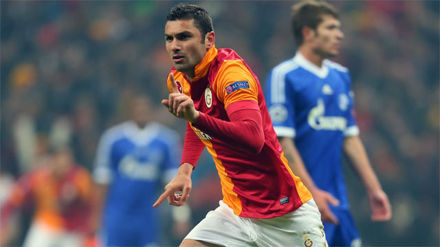 The tournament's other leading scorer, Burak Yilmaz has scored eight of Galatsaray's 11 goals in the Champions League this season. There's no doubt Yilmaz's offensive flair will be needed against Real Madrid in the quarter-finals.