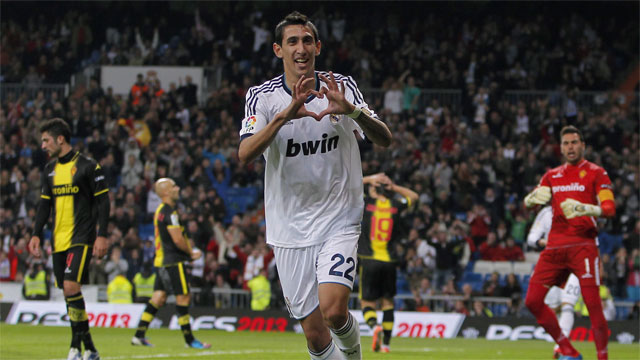 While Ronaldo is the scorer, Argentine national Angel di Maria is Madrid's set-up man. The 25-year-old winger ranks second in the Champions League in assists with five, and will be essential to quelling Dortmund's stellar defence. (AP/Andres Kudacki)