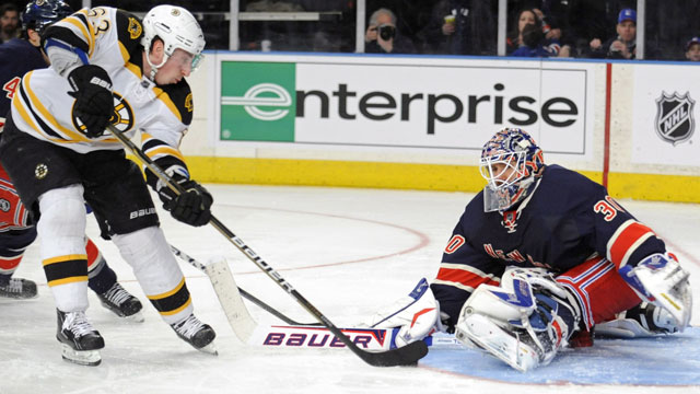 Bruins Vs. Rangers: All About Lundqvist