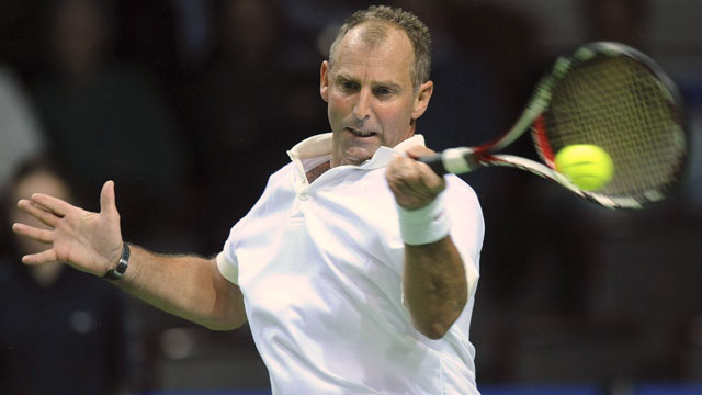10)Austria's Thomas Muster upset No. 1 seed Andrei Agassi in the quarters before cruising past Michael Chang in the 1995 final.  (AP/Andreas Schaad)
