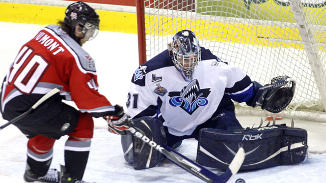 The Rimouski Oceanic were the last hosts to not make the final back in 2009. (CP/Ryan Remiorz)