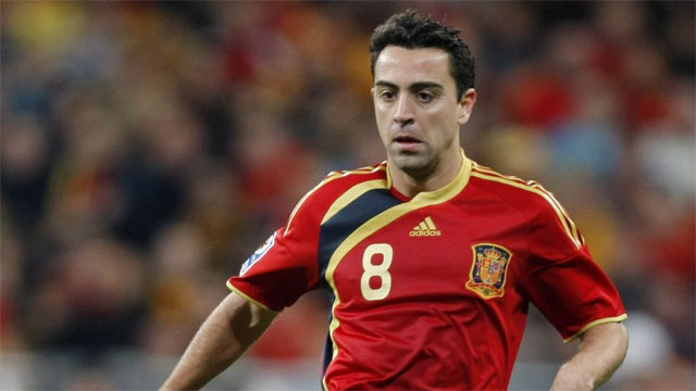Xavi Hernandez, also of Barcelona, is getting up there in age, but in terms of composure and ball distribution, it is still hard to argue that there is someone better. As said previously, Spain still must be considered the favourites at this tournament, and he is still a big reason why. (AP/Paul White)