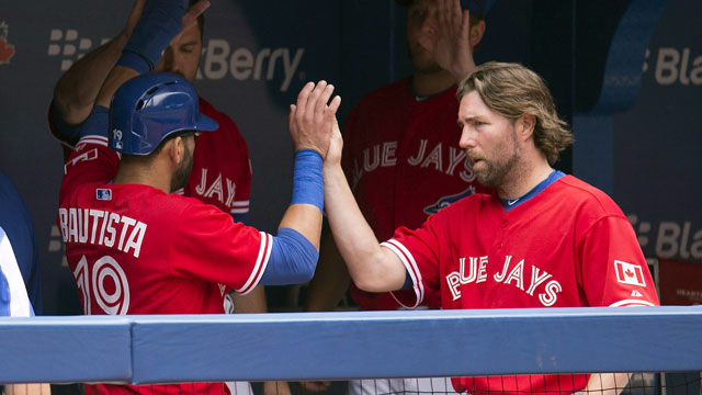 Blue Jays' offence sinks Tigers on Canada Day