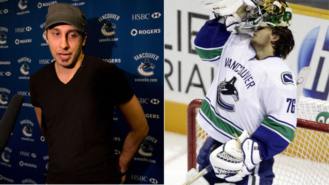 Lack Takes Friendly Jab At Luongo On Twitter Sportsnet Ca