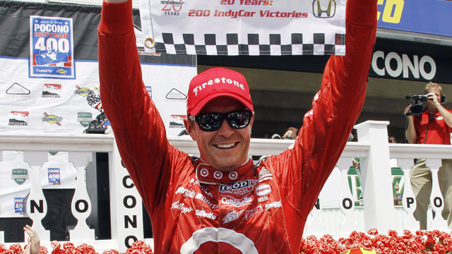 ChipGanassi Racing's Scott Dixon of New Zealand (AP/Russ Hamilton Sr.)