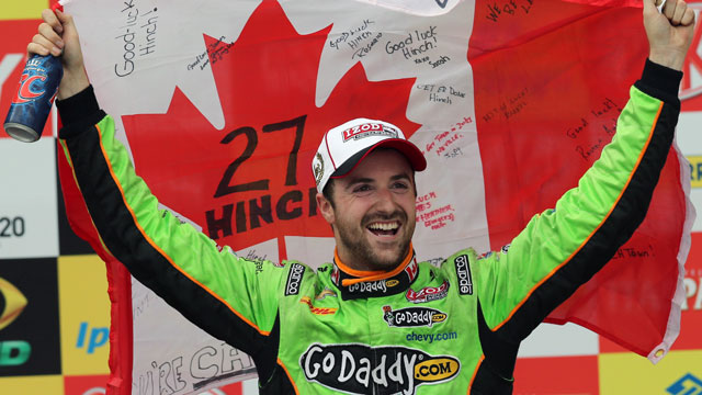 Oakville, Ont., native James Hinchcliffe, an Andretti Autosport driver (AP/Andre Penner)