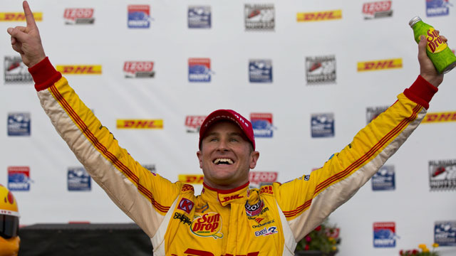 Andretti Autosport's Ryan Huner-Reay from the United States (AP/Jeffrey Phelps)