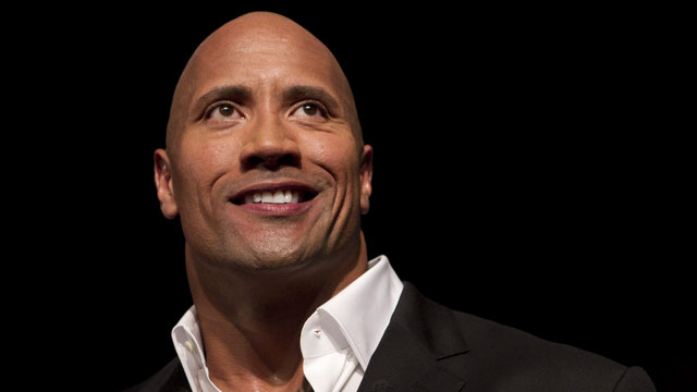 "Dwayne ""The Rock"" Johnson, a professional wrestler in the WWE, has featured in numbers movies including Gridiron, Tooth Fairy and the Fast & the Furious series (AP/Felipe Dana)"