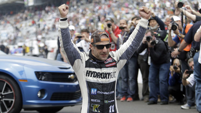 KV Racing Technology driver Tony Kanaan from Brazil (AP/Tom Strattman)