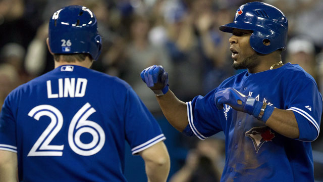 Lind, Encarnacion out of Jays' lineup vs. Tigers