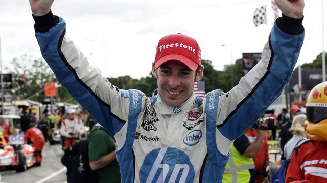 Sam Schmidt Motorsports' driver Simon Pagenaud (AP/Paul Sancya)