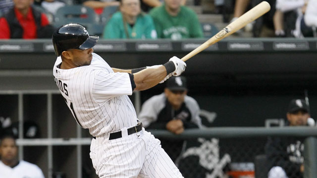 In a poor hitting market, Alex Rios looks like a real prize. The current Chicago White Sox outfielder has garnered a lot of attention, despite a complicated contract (AP/Charles Rex Arbogast)