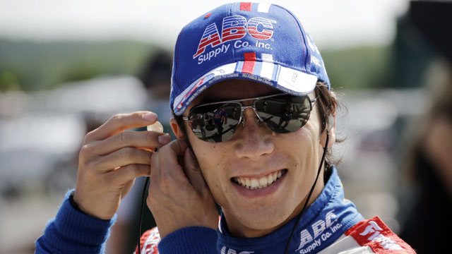 A.J. Foyt Enterprises driver Takuma Sato of Japan (AP/Matt Slocum)