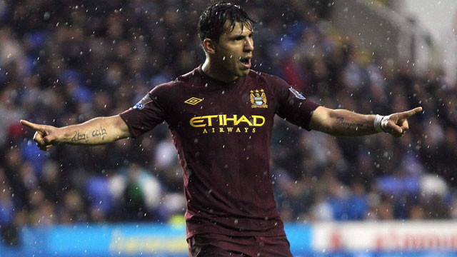 The son-in-law of Diego Maradona, Sergio Aguero lit up La Liga for Atletico Madrid for five seasons and then, after being signed in 2011 by Manchester City for £38 million, he has proceeded to not miss a step and dominate the Premier League as well. The 25-year-old Argentine prefers to be a central forward, though has loads of technical ability to play in support as well, and does nothing but score goals (to the tune of 35 goals in 64 appearances). City managed to re-sign Aguero, keeping him at the City of Manchester Stadium until 2017, despite strong speculation that he was being heavily targeted by Real Madrid (AP/David Davies)