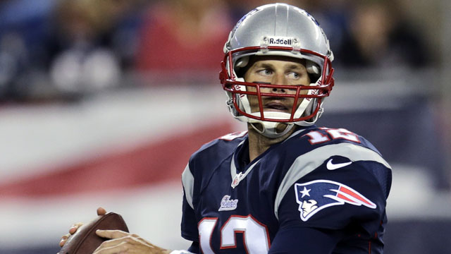 Tom Brady, the quarterback of the New England Patriots, averaged 21.27 fantasy points-per-game (AP/Charles Krupa)