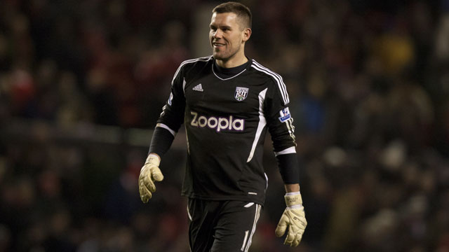 Was West Bromwich Albion a solid defensive club that made keeper Ben Foster look good, or did Ben Foster make the Baggies' defence look solid? Whatever the answer, West Brom finished higher in the Premier League table than they have in 30 years last season, with Foster equaling the club record with 10 clean sheets in the process. The 30-year-old has six England caps and was named both the team's players' and supporters' player of the year last year, resulting in a contract extension of a minimum three years. While the jury is out concerning Foster's future with the Three Lions, there is no doubting how much he means to West Midlands club. (AP/Jon Super)