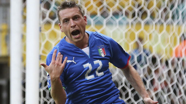 Emanuele Giaccherini, Sunderland's recent transfer from Juventus in Serie A, is one of the more unique players in the world. At five-foot-six, the Italian does not possess other-worldly talent, or speed, or strength, yet he thrives due to his versatility to play almost anywhere in the midfield. His intensity and work rate not only earned him a spot on Italy's 2013 Confederations Cup team, but made him one of the Azzuri's key players – all in spite of massive criticism towards Italy manager Cesare Prandelli for including him in the first place. The 28-year-old understands attacking space and for the supporters of blue-collar underdogs, Giaccherini appears to be a potential fan-favourite. (AP/Antonio Calanni)
