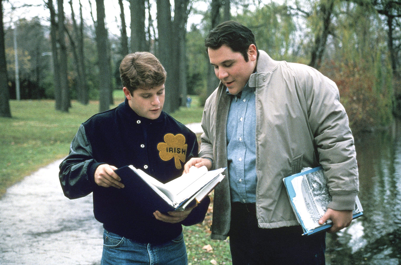 Jon Favreau Rudy rudy still making grown men cry 20 years later ...