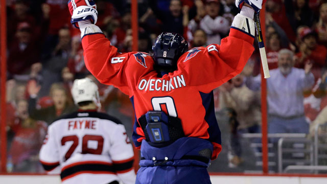 timeless design dcf9e be7af Jersey tuck rule upsets Capitals' Ovechkin - Sportsnet.ca