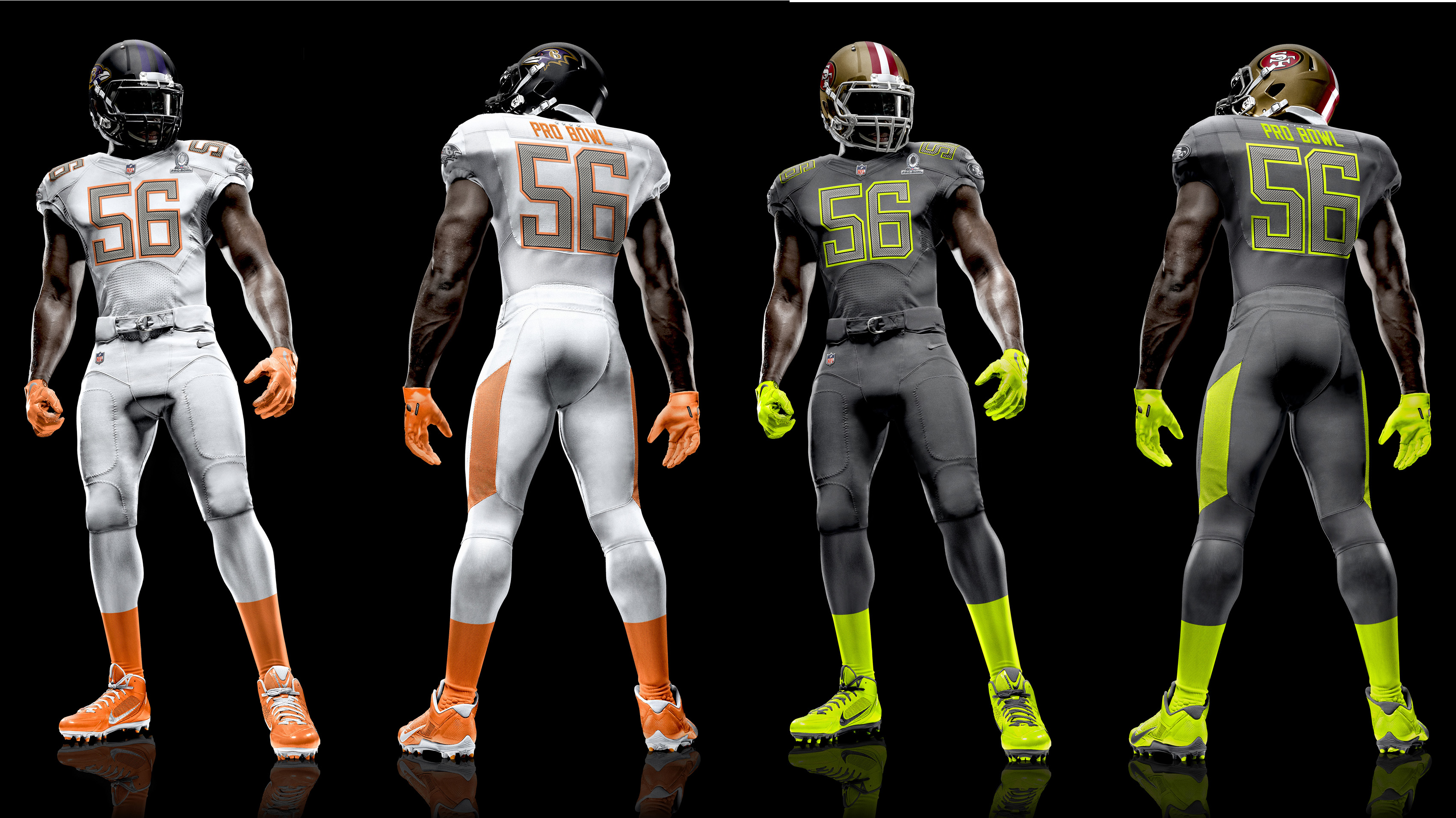 eab77177 The NFL Nike Elite 51 Pro Bowl uniform—sure to become bestselling jerseys,  if only as nightclub attire. (courtesy NFL.com)