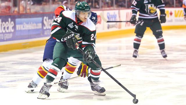 QMJHL: Ehlers Scores Twice; Mooseheads Win 9th Straight