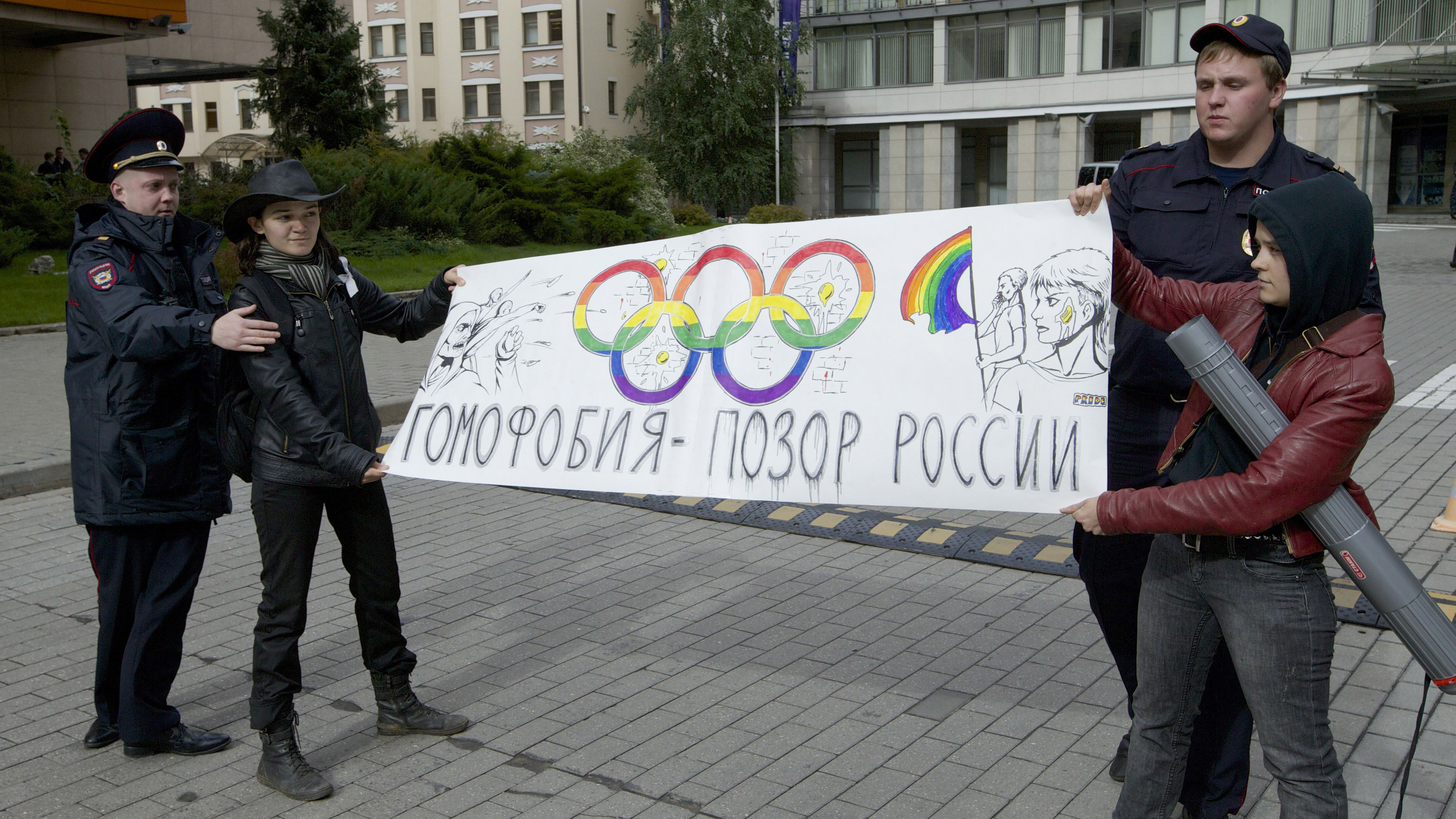 Russia, Gay Rights, And The Sochi Olympics