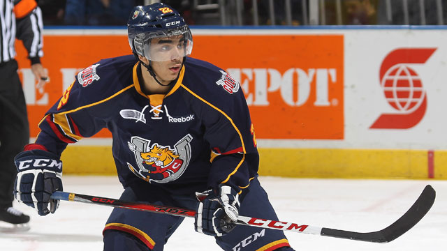 OHL: Athanasiou Has Goal, 3 Assists As Colts Down 67's