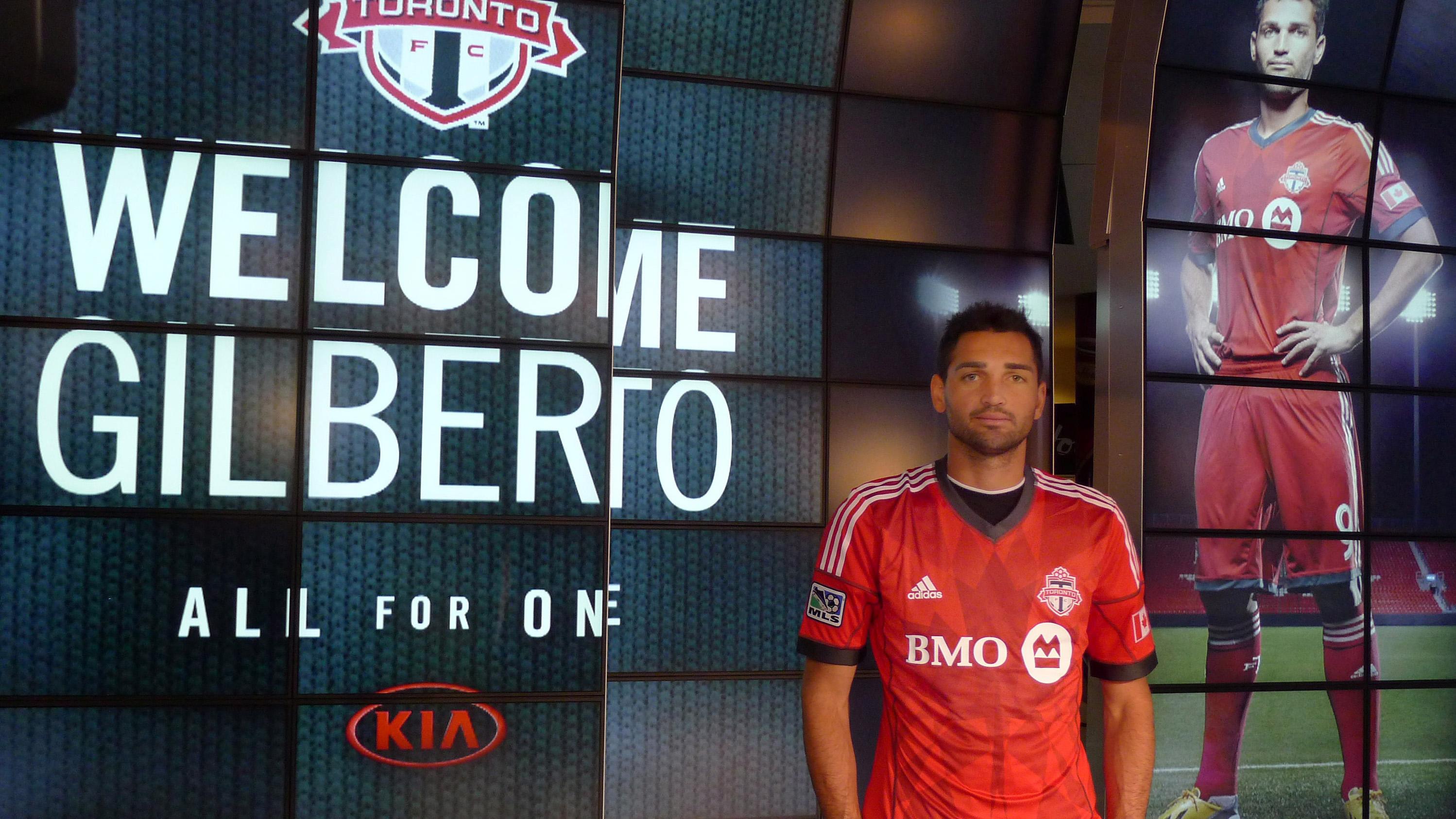 new product 21229 d5136 Toronto FC lands Brazilian striker Gilberto - Sportsnet.ca
