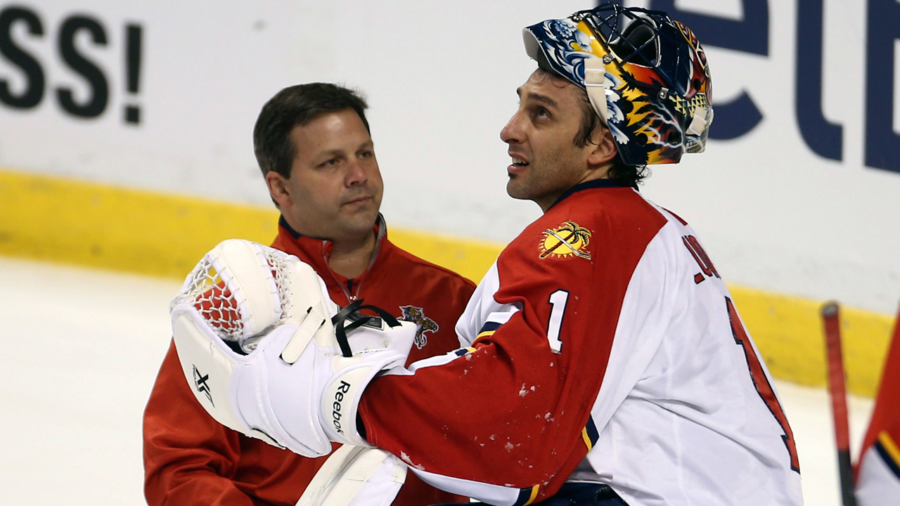 Luongo Unveils New Florida Panthers Mask Sportsnet Ca