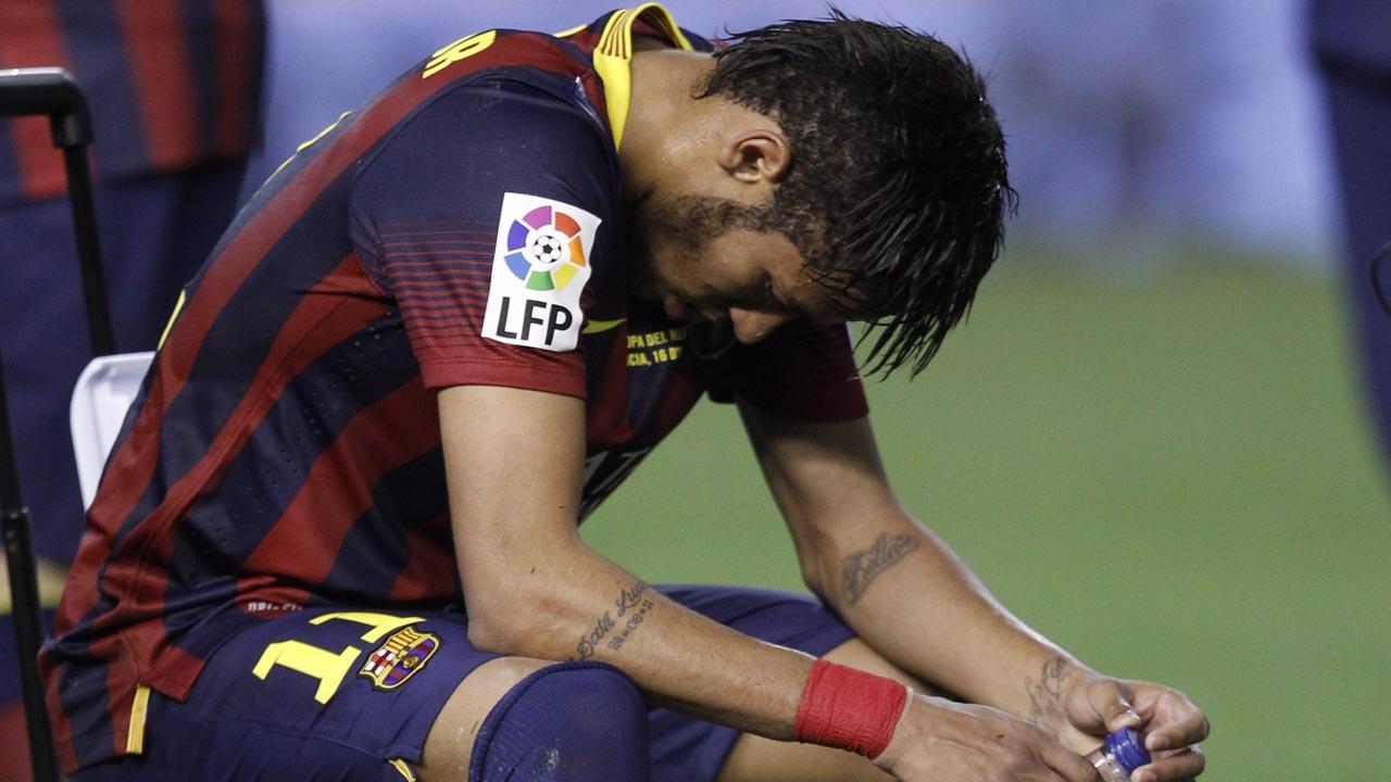 Image result for neymar barca sad
