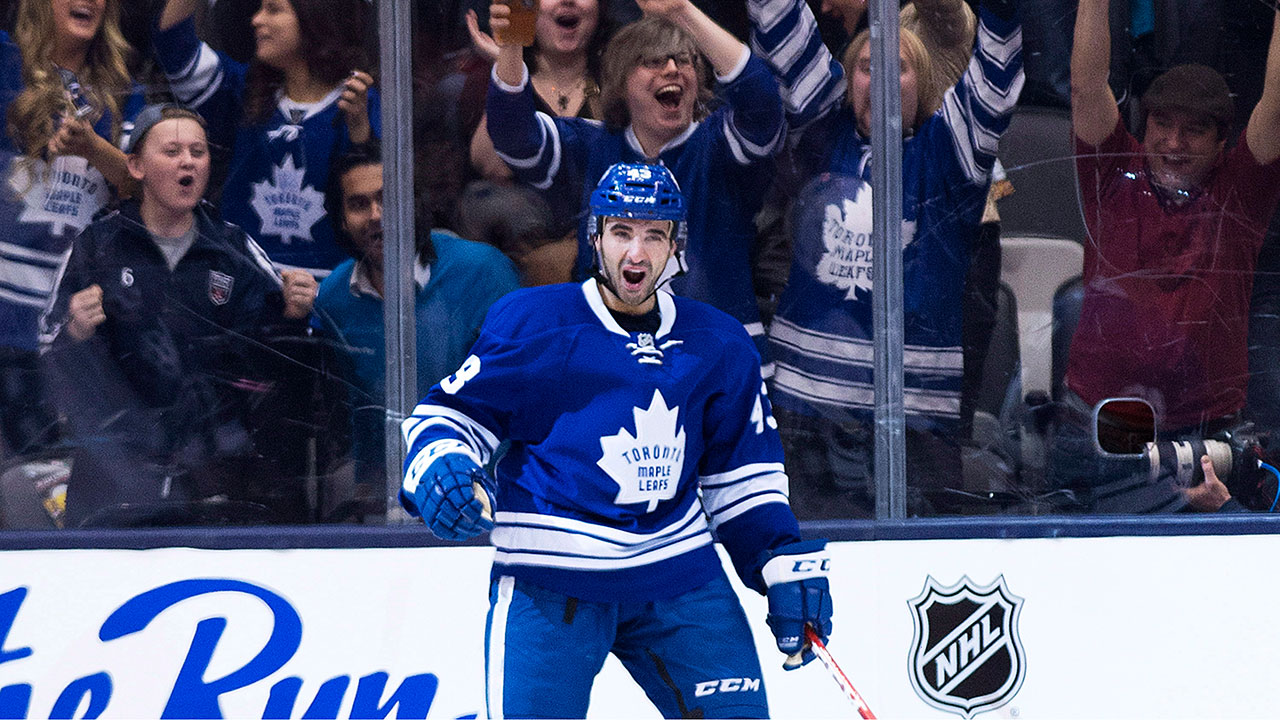 Nazem-Kadri;-Air-Canada-Centre;-Toronto-Maple-Leafs