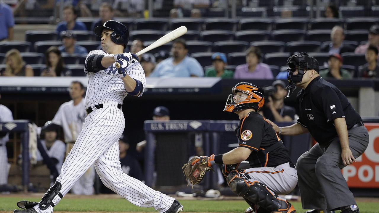 Yankees Beltran Shuts Down Throwing Program Sportsnet Ca