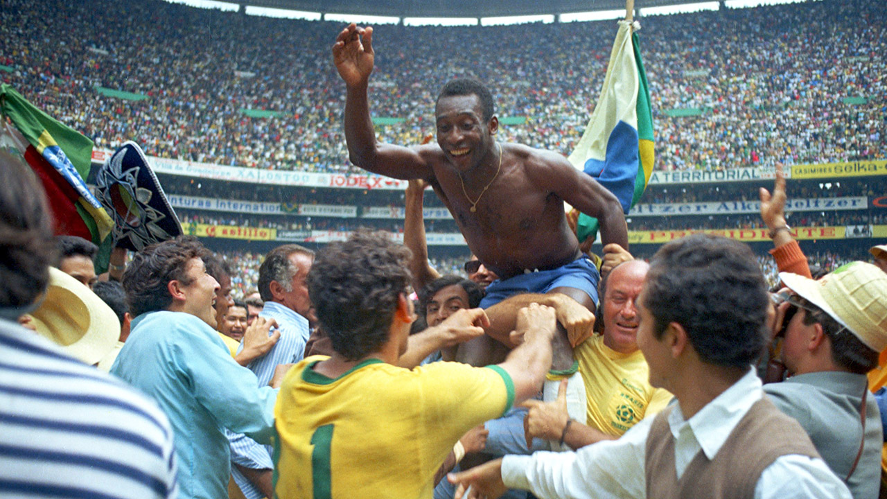 History of the World Cup: 1970 – Pele and Brazil on top again ...