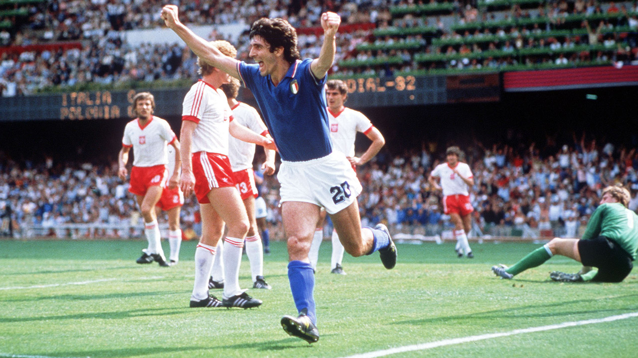 History of the World Cup: 1982 – Rossi to the rescue for Italy ...