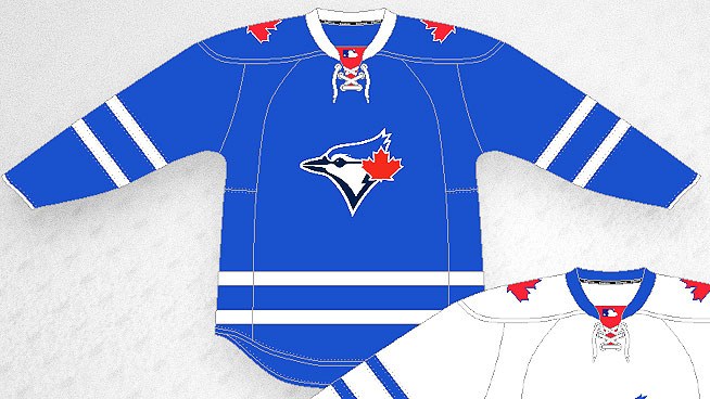 blue jays hockey jersey