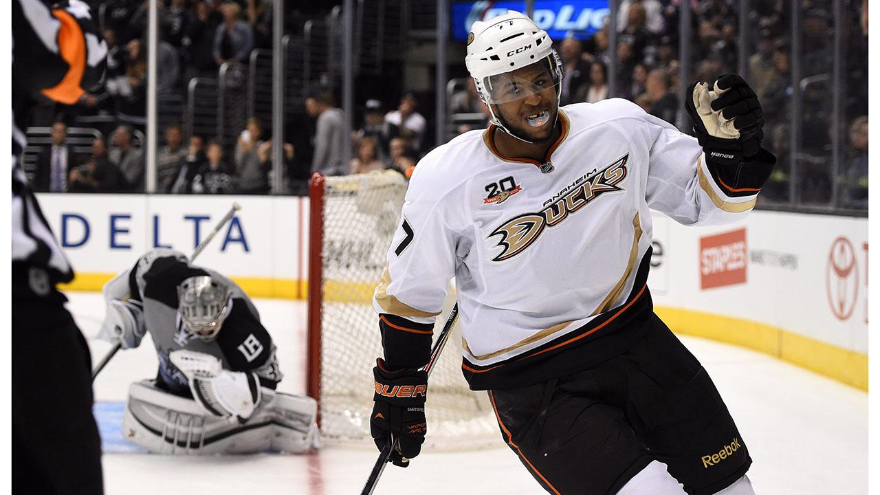 Devante-Smith-Pelly;-Anaheim-Ducks;-Montreal-Canadiens