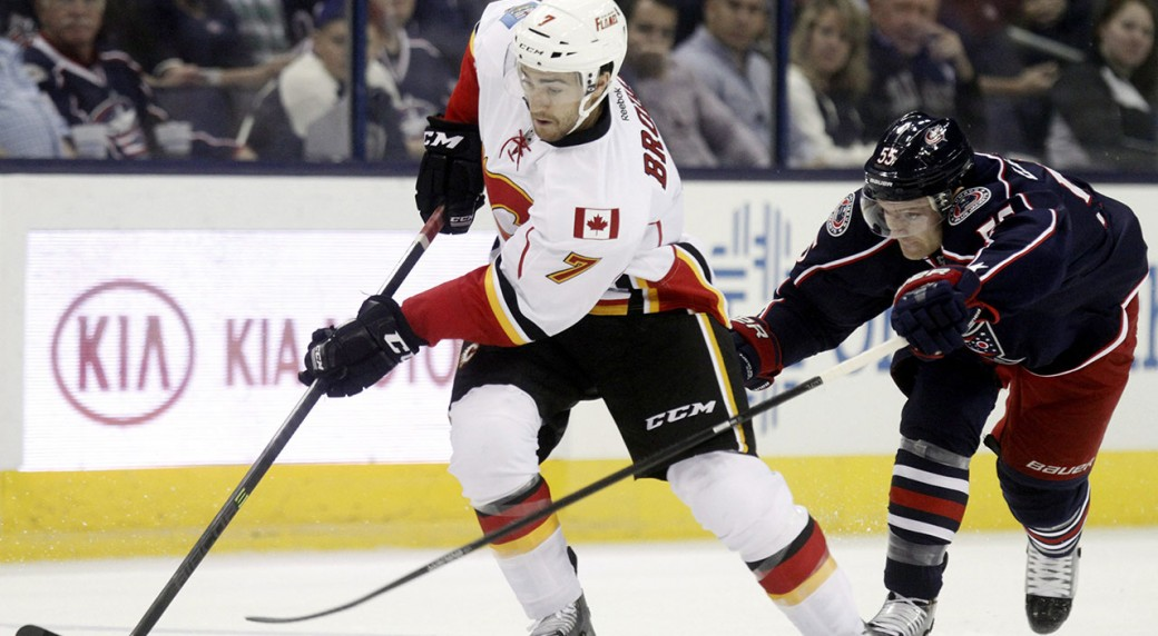 Flames Brodie Working On New Contract Sportsnet Ca