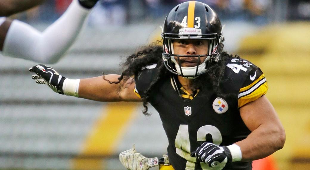 Troy-Polamalu;-Pittsburgh-Steelers