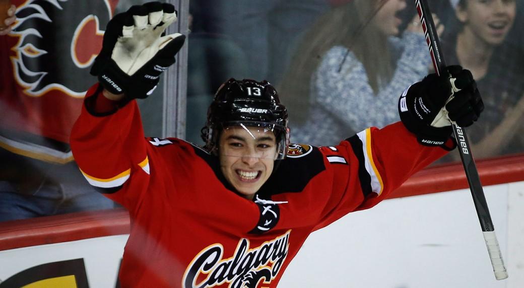 Johnny-Gaudreau;-Calgary-Flames