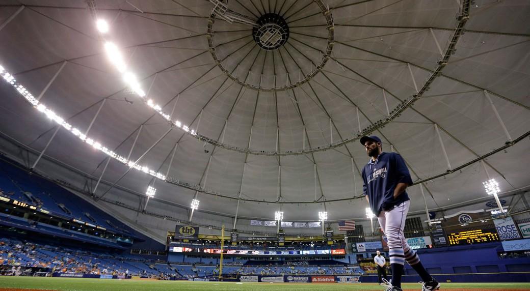 Tampa-Bay-Rays;-Tropicana-Field