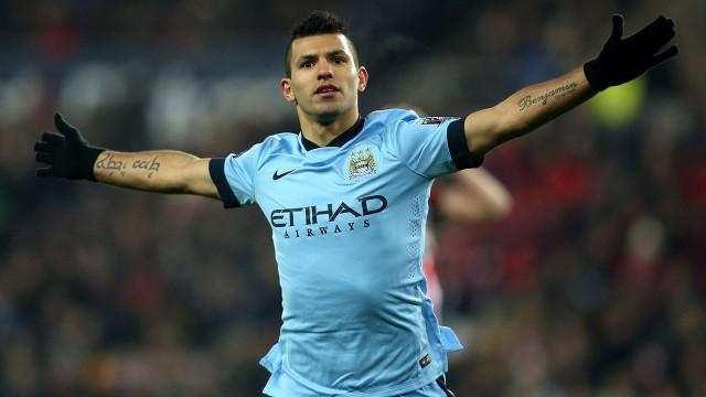 Sergio-Aguero;-Manchester-City